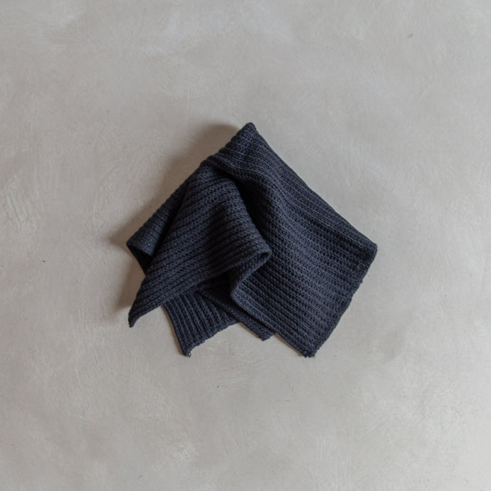 Linen dish cloth - black