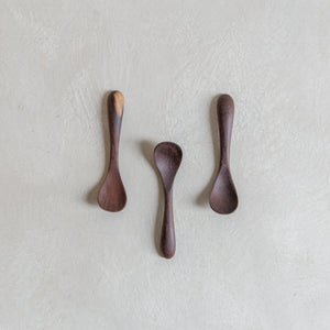 Salt spoon - wood
