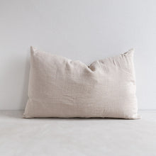 Load image into Gallery viewer, Linen pillow - Flax