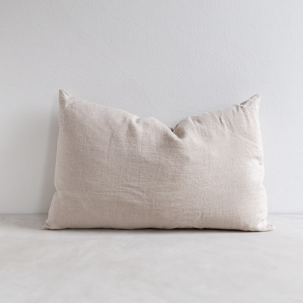 Linen pillow - Flax