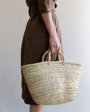 Load image into Gallery viewer, Classic straw basket - small
