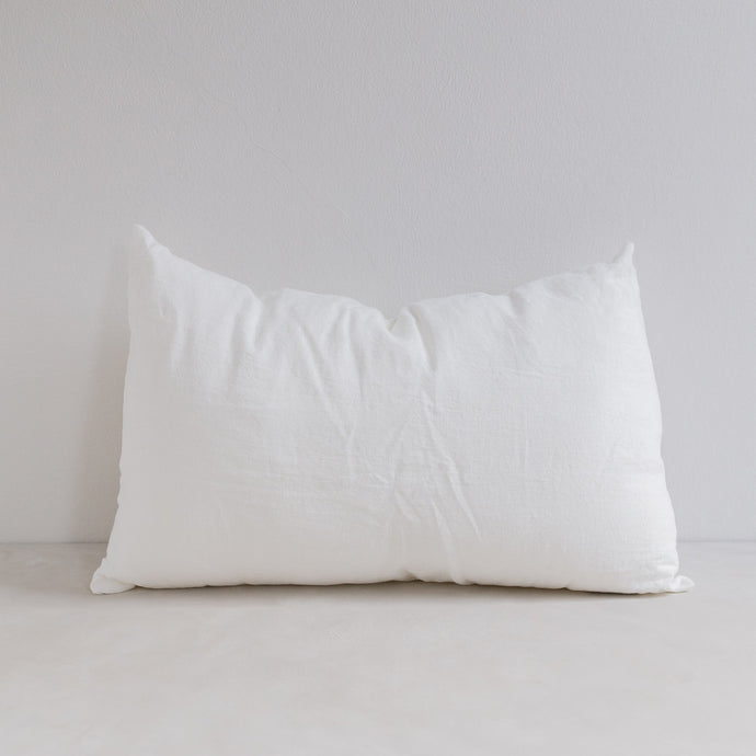 Linen pillow - Milk