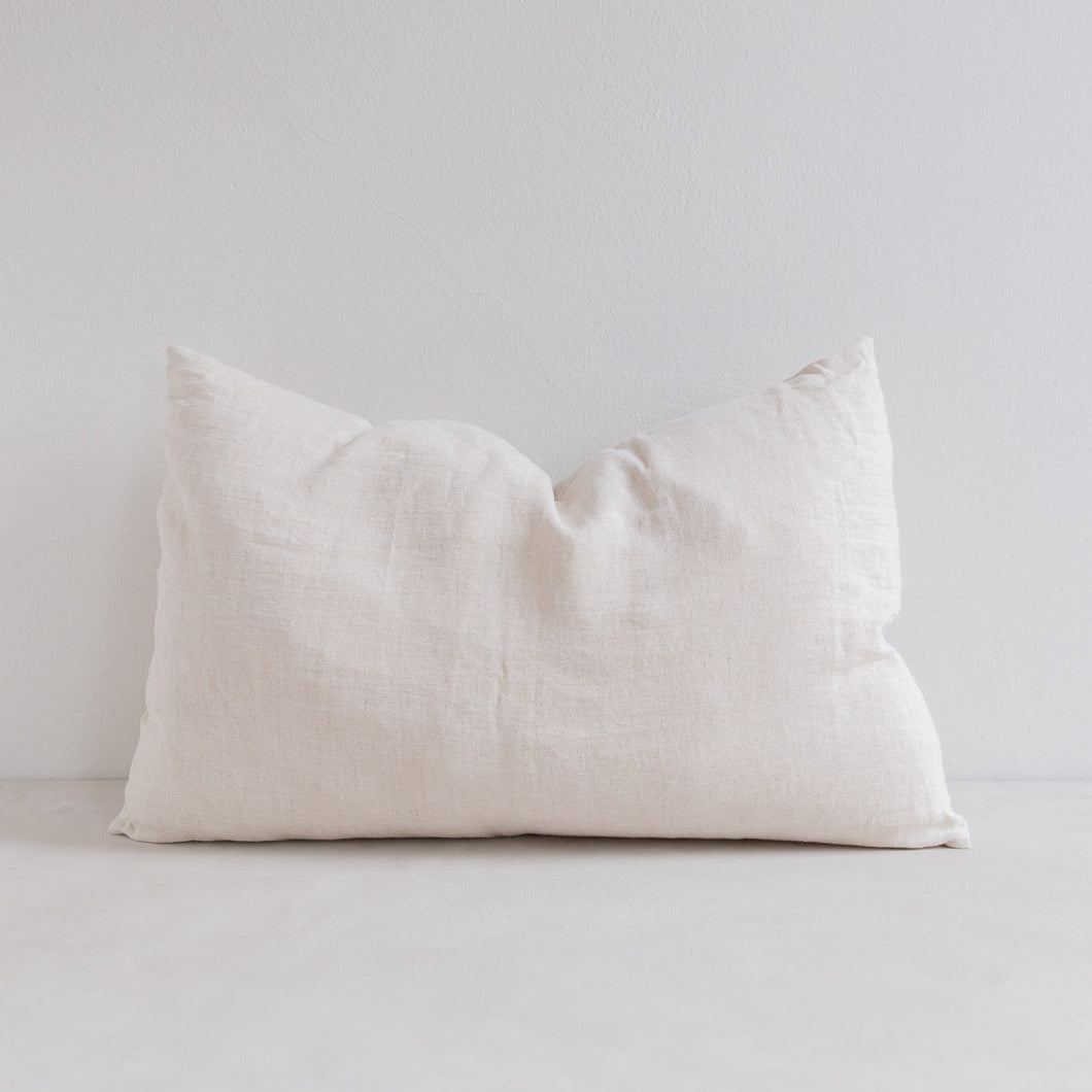 Linen pillow - Natural