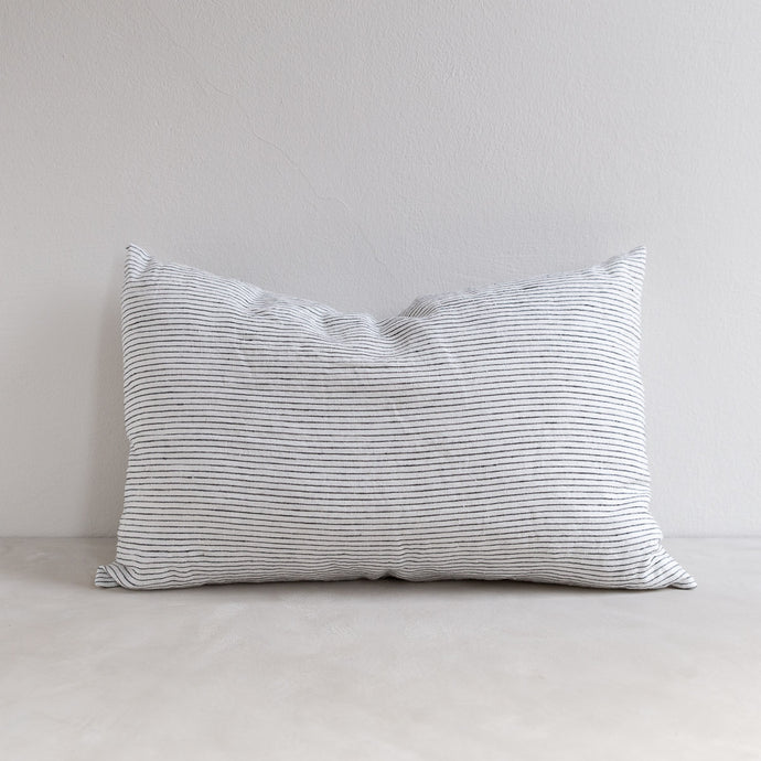 Linen pillow - Pinstripe