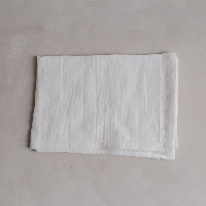 Linen tea towel - Milk