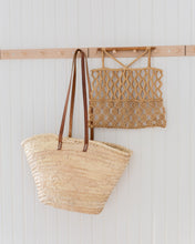 Load image into Gallery viewer, Vintage straw market bag - Lucie