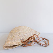 Load image into Gallery viewer, Vintage straw market bag - Ludivine
