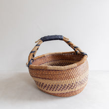 Load image into Gallery viewer, Vintage straw bolga basket - Maryam