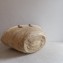 Load image into Gallery viewer, Vintage straw market bag - Odilie