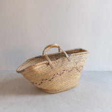 Load image into Gallery viewer, Vintage straw market bag - Olivia