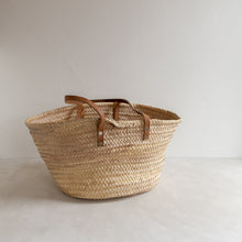 Load image into Gallery viewer, Preloved straw market bag - Simone