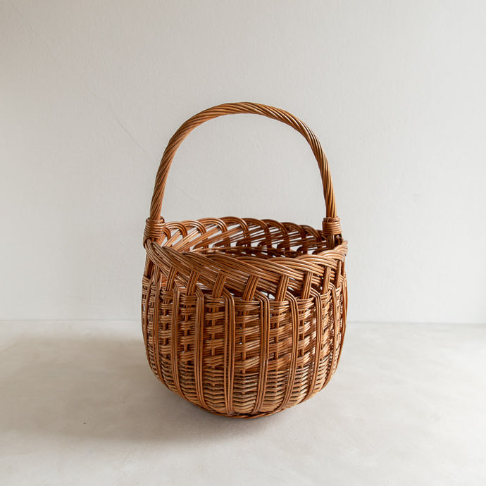Vintage straw basket - Timothée