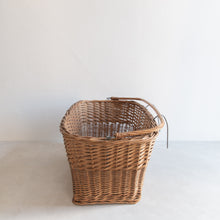 Load image into Gallery viewer, Vintage straw bike basket - Truus