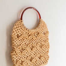 Load image into Gallery viewer, Vintage macrame bag - Urselle