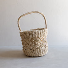 Load image into Gallery viewer, Chloe - Paper straw handbag - cream