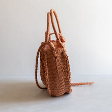 Load image into Gallery viewer, Paper straw cross body bag - rust