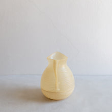 Load image into Gallery viewer, Vintage plastic pitcher - cream