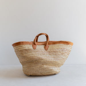 vintage straw market bag