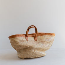 Load image into Gallery viewer, vintage straw market bag