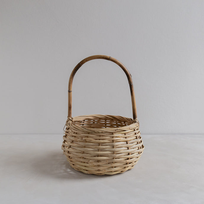 Vintage straw basket - Louis