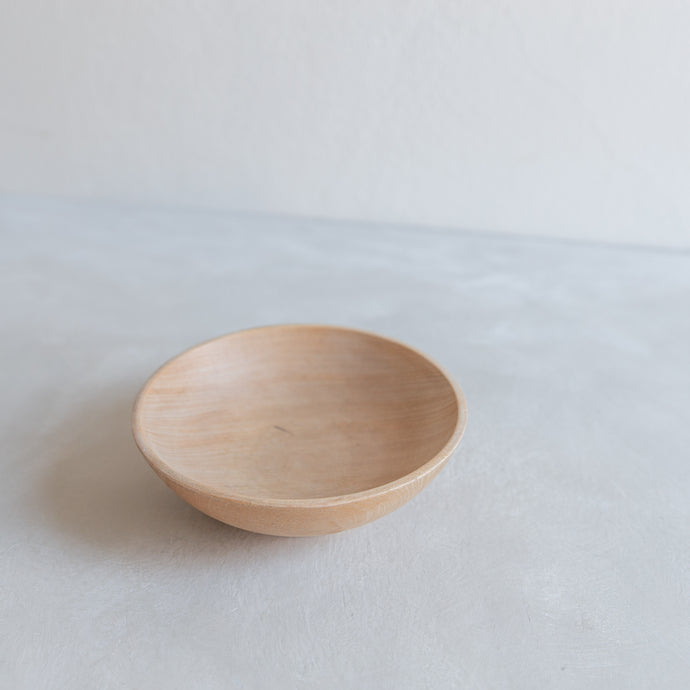 Vintage small bowl - wood