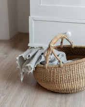 Load image into Gallery viewer, Preloved straw bolga basket - Vivienne