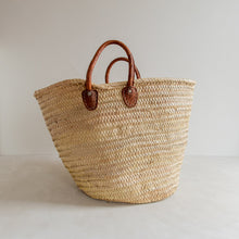 Load image into Gallery viewer, Preloved straw market bag - Yvette