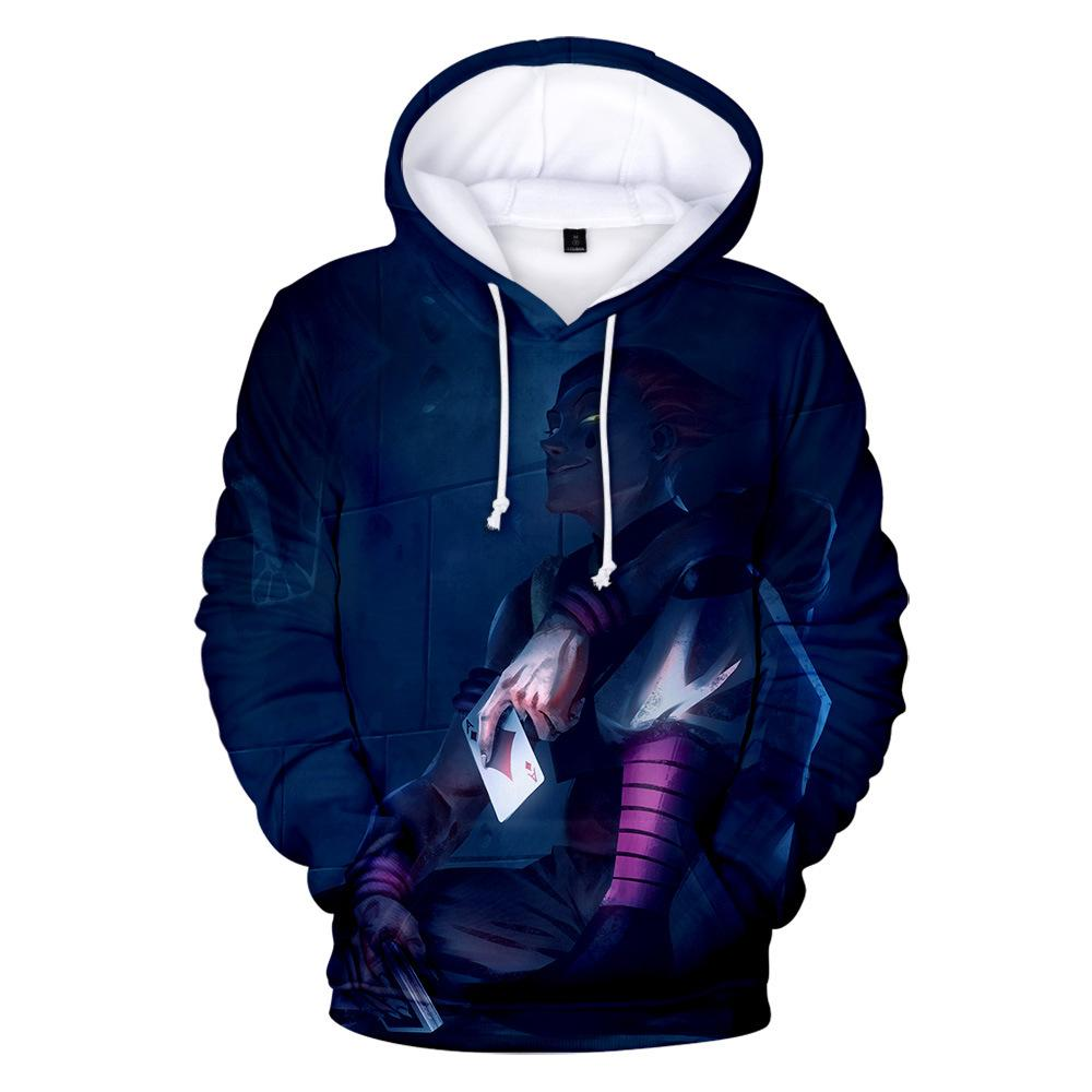 3D Hunter x Hunter Graphic Printed Pullover Hoodie