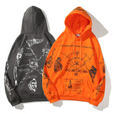 Graffiti Hoodie Streetwear Hip Hop Sweater