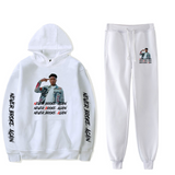 Youngboy Sweatshirt Hoodie + Sweatpants Tracksuit 2 Piece Sets