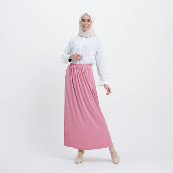 Mide Skirt Flamingo
