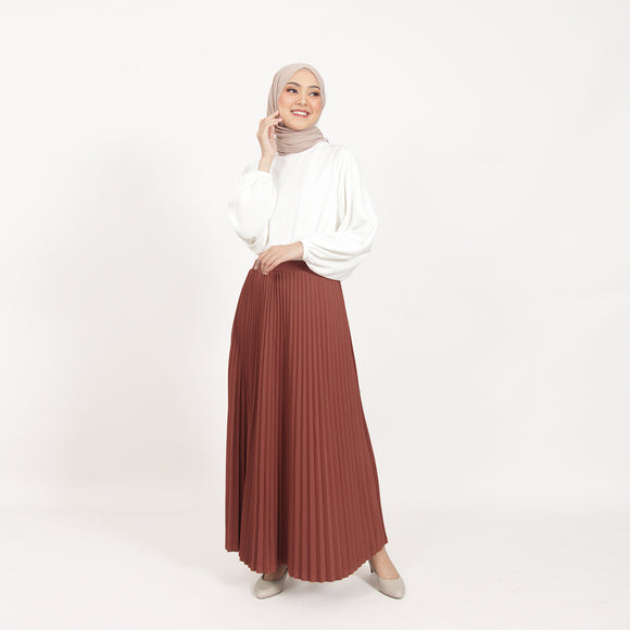 Calla Skirt Terracotta