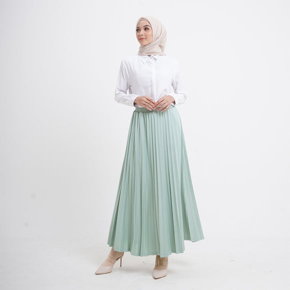 Zia Skirt Subtle Green