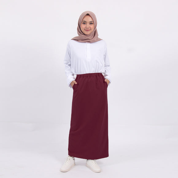 Terry Skirt Ruby
