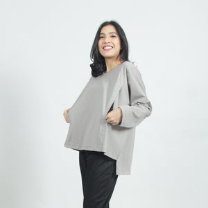 Eve Top - Light Grey