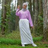 Terry Skirt White