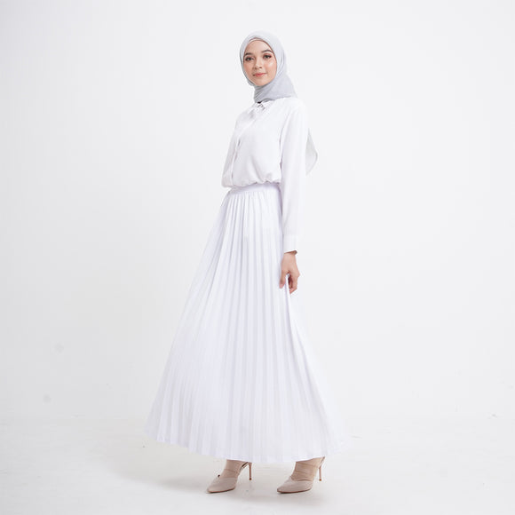 Zia Skirt White