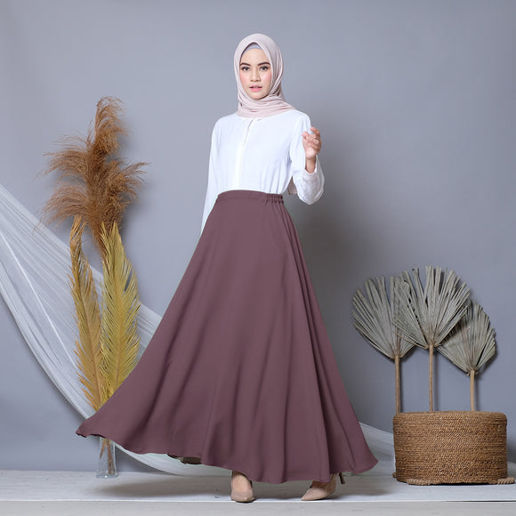Circle Skirt Rosebrown