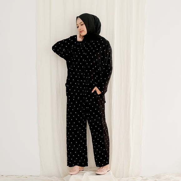 Homi Set - Polka Black
