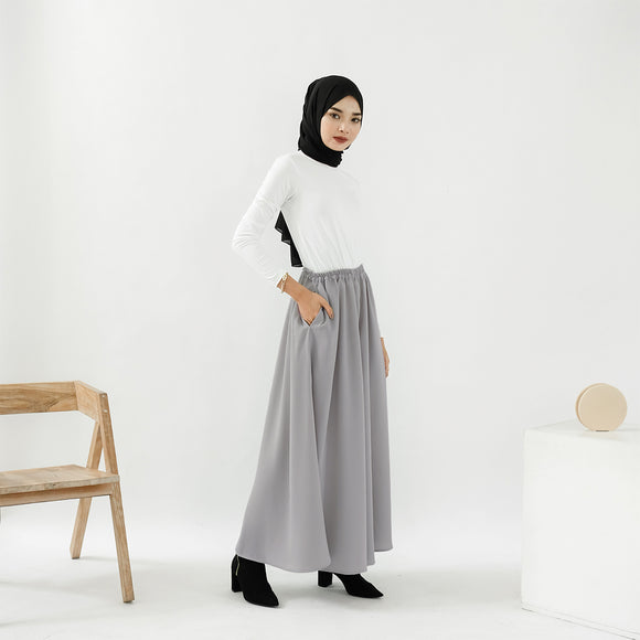 Ivy Wide Pants Grey