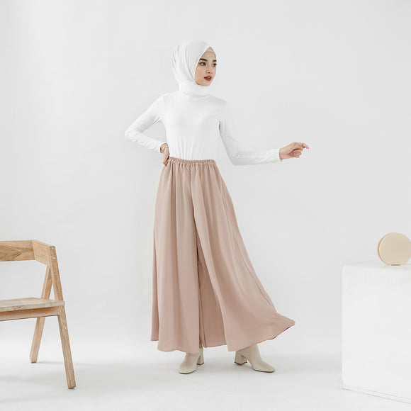 Ivy Wide Pants Rose Dust