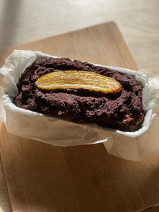 Gluten Free High Protein Brownie Loaf Cake (Paleo approved)