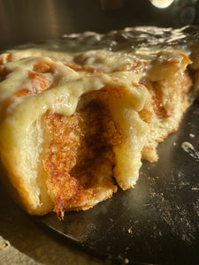 Cream Cheese Frosting Reduced Sugar Cinnamon Roll
