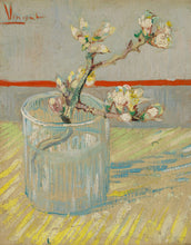 Load image into Gallery viewer, Van Gogh's Sprig of Flowering Almond Candle Holder Gift Box