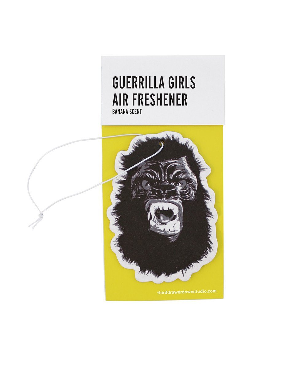 Guerrilla Girls Eliminate the Stench of Patriarchy Air Freshener