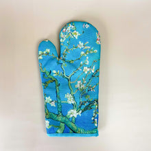 Load image into Gallery viewer, Almond Blossom Oven Mitts