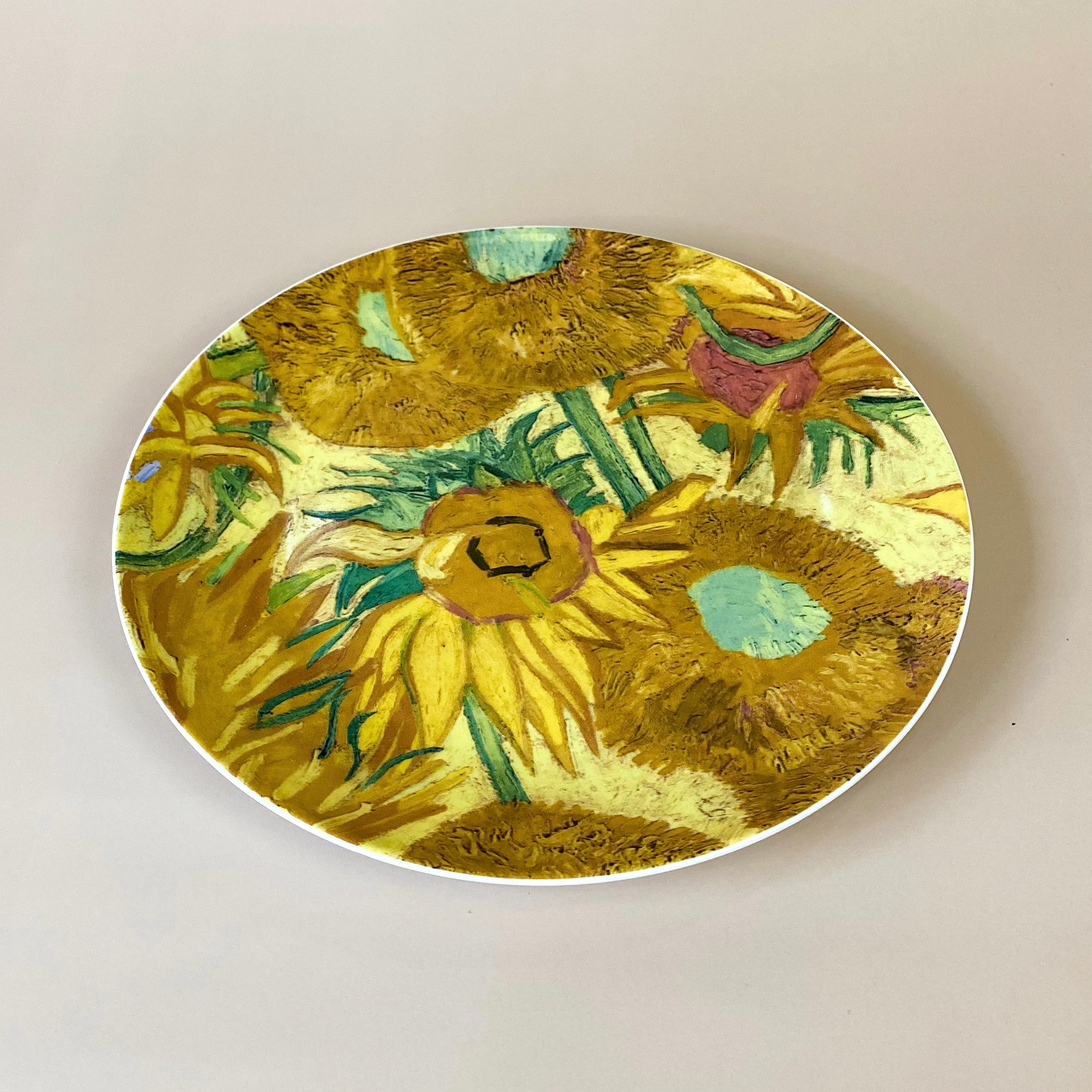 Sunflowers Porcelain Plate