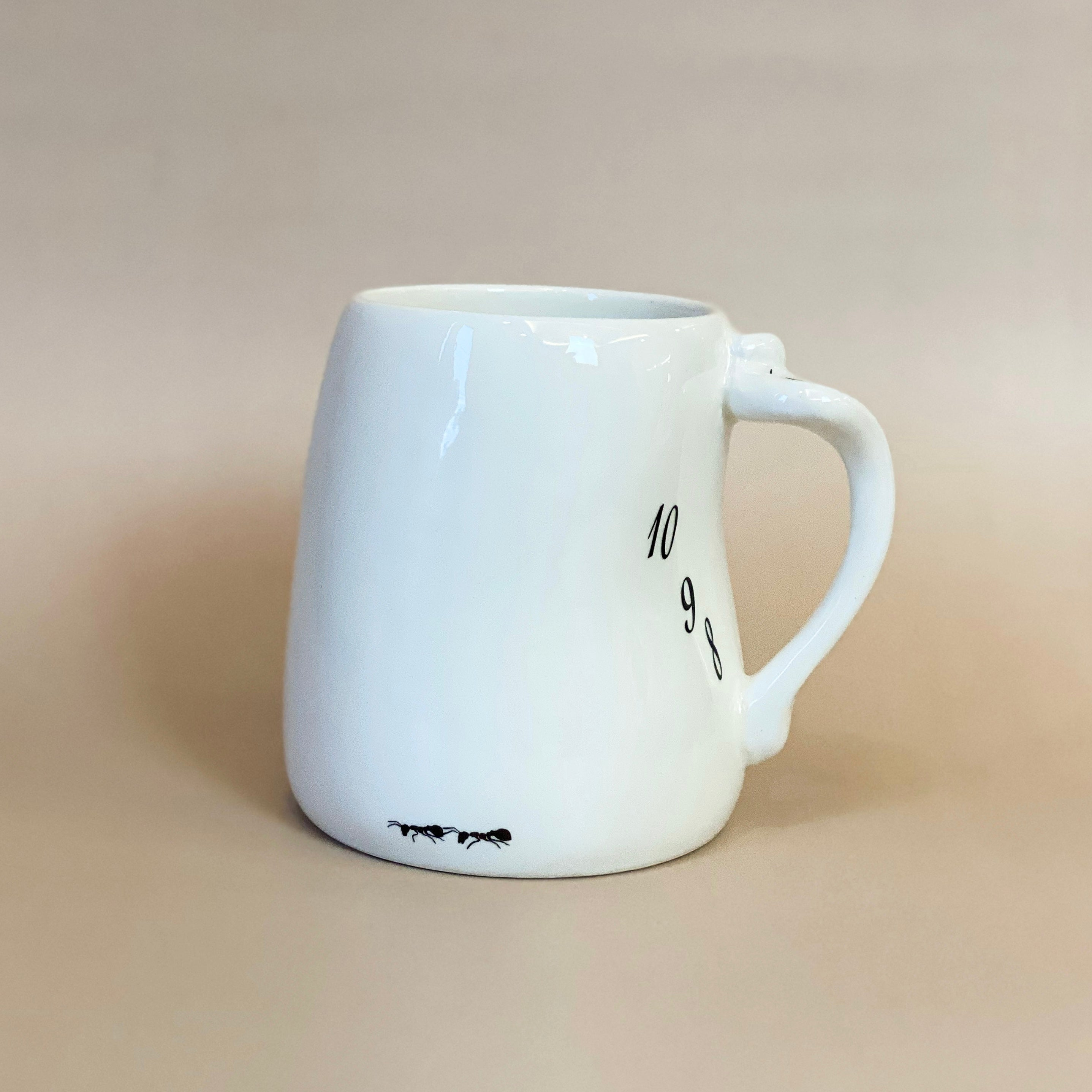 Salvador Dali Porcelain Melting Clock Mug