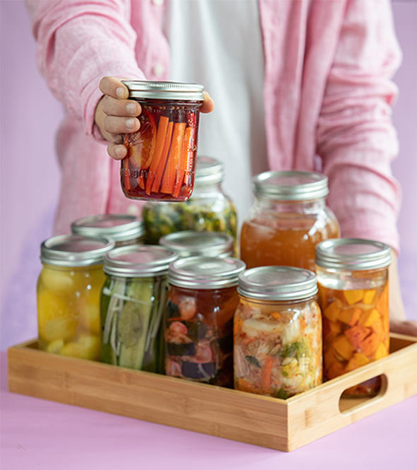 Fermenting vegetables - methods & recipe