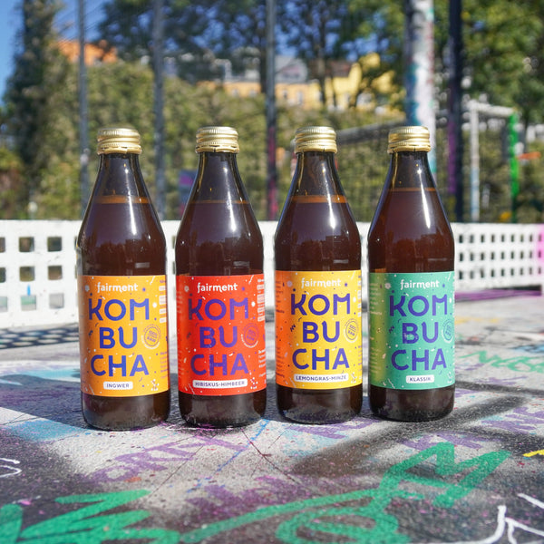 Organic Kombucha (330 ml bottles) | german packaging